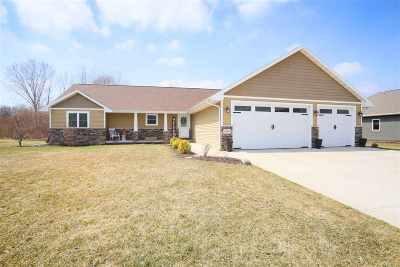 Menasha Single Family Home Active-No Offer: N8603 Winding Trail