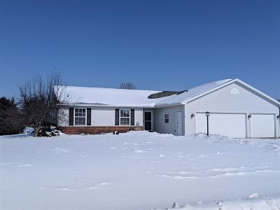 Appleton Single Family Home Active-Offer No Bump: W5580 Colin