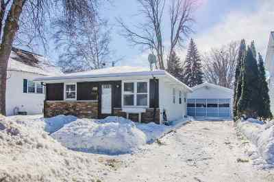Green Bay Single Family Home Active-No Offer: 1738 Eastman