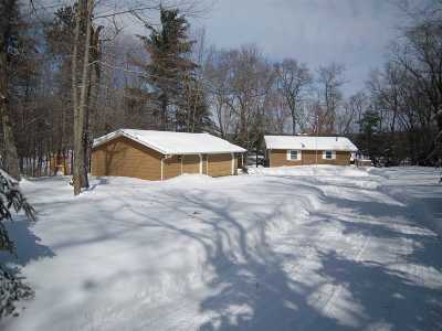 Shawano County Single Family Home Active-Offer No Bump: N7010 W Lake Crest