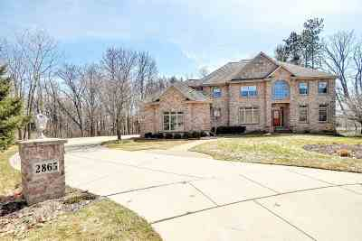Green Bay Single Family Home Active-No Offer: 2865 Shelter Creek