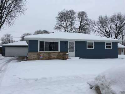 Neenah Single Family Home Active-Offer No Bump: 1047 Meadow