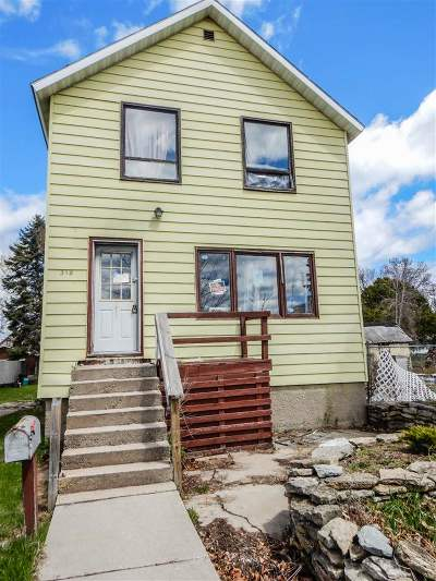 Marinette Single Family Home Active-No Offer: 318 Terrace
