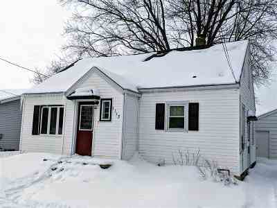 Kaukauna Single Family Home Active-Offer No Bump: 1113 Harrison