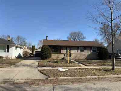 Appleton Single Family Home Active-No Offer: 1206 W Roberts