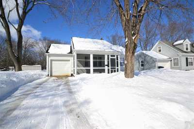 Green Bay Single Family Home Active-Offer No Bump: 1314 Bismarck