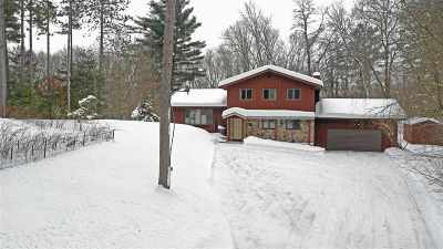 Waupaca Single Family Home Active-No Offer: N3345 Covered Bridge