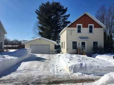 Shawano Single Family Home Active-Offer No Bump: 1111 S River