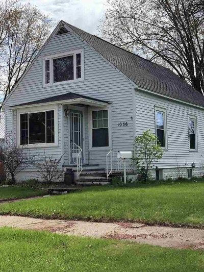 Marinette Single Family Home Active-No Offer: 1036 Walnut