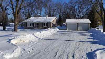 Neenah Single Family Home Active-Offer No Bump: 1436 Hwy O
