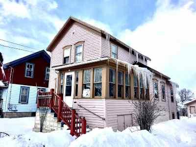 Oshkosh Single Family Home Active-No Offer: 30 W 12th