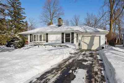 Appleton Single Family Home Active-Offer No Bump: 8 Embrey