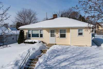 Kimberly WI Single Family Home Active-No Offer: $139,900