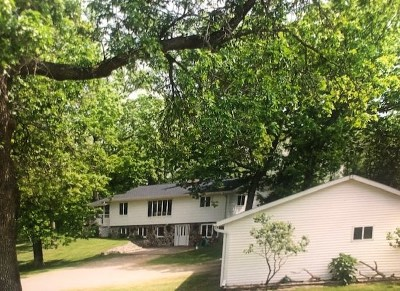 Waupaca Single Family Home Active-No Offer: N3620 Tomorrow River