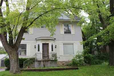 Oshkosh Single Family Home Active-No Offer: 742 Jackson