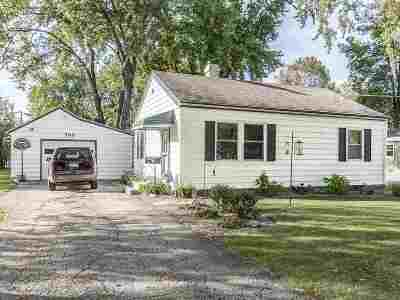 Kaukauna WI Single Family Home Active-No Offer: $111,999