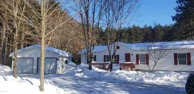 Waupaca Single Family Home Active-No Offer: E2614 Marion