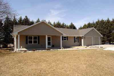 Appleton Single Family Home Active-Offer No Bump: W3961 Wege