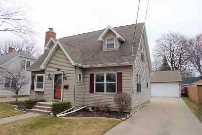 Appleton Single Family Home Active-Offer No Bump: 214 W Parkway