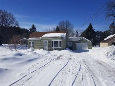 Shawano Single Family Home Active-No Offer: 1137 S River