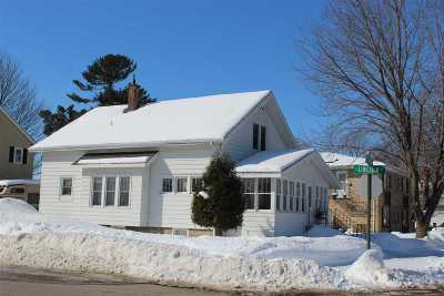 Shawano Single Family Home Active-Offer No Bump: 320 E Division