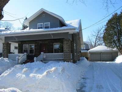 Appleton Single Family Home Active-Offer No Bump: 833 W Prospect