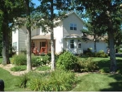 Waupaca Single Family Home Active-No Offer: 798 Hillock