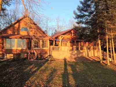 Crivitz Single Family Home Active-No Offer: W5969 Lake
