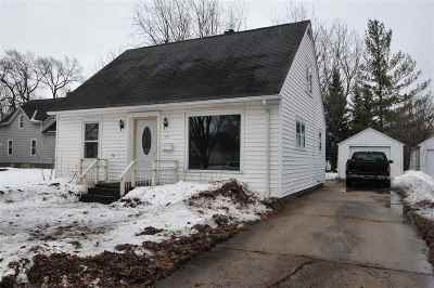 Appleton Single Family Home Active-Offer No Bump: 1411 W 8th