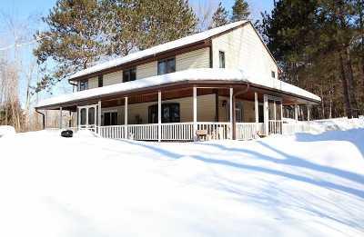 Shawano County Single Family Home Active-No Offer: W157 White Ridge