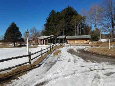 Waupaca Single Family Home Active-No Offer: N2154 West