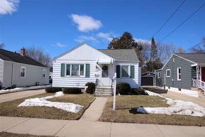Oshkosh Single Family Home Active-No Offer: 1637 Western