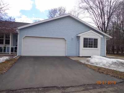 Appleton Condo/Townhouse Active-No Offer: 670 Stonehedge #D
