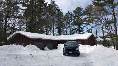 Shawano County Single Family Home Active-No Offer: N9285 Big Lake