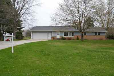 Green Bay Single Family Home Active-No Offer: 3188 Bridge