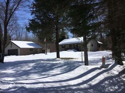 Townsend WI Single Family Home Active-No Offer: $223,900