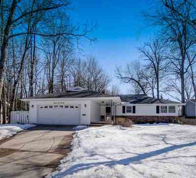 Appleton Single Family Home Active-No Offer: 717 E Hoover