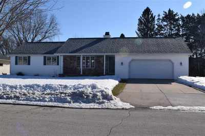 Green Bay Single Family Home Active-No Offer: 1356 Settlers Row