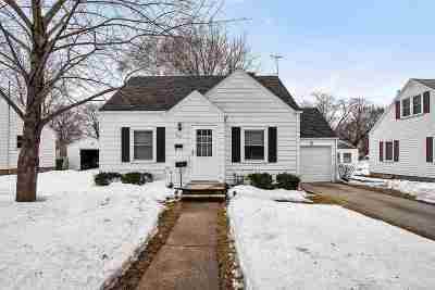 Green Bay Single Family Home Active-No Offer: 1106 Thrush