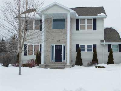 Menasha Single Family Home Active-No Offer: 1355 Tuckaway