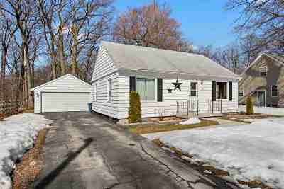 Appleton Single Family Home Active-No Offer: 1018 Red Oak