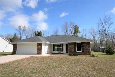 Oconto Single Family Home Active-Offer No Bump: 203 Bitters