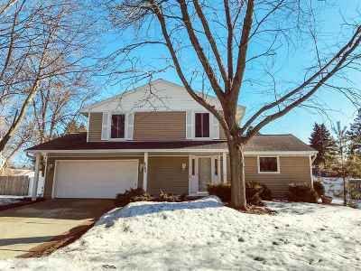 Green Bay Single Family Home Active-No Offer: 2742 Sherry