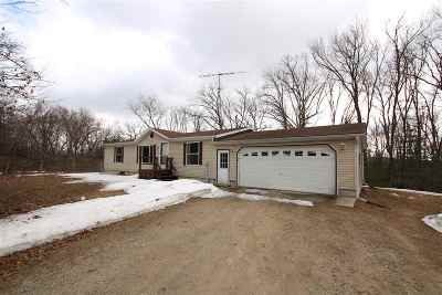 Single Family Home Active-No Offer: N5020 Hwy C