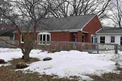 Green Bay Single Family Home Active-No Offer: 2852 Curry