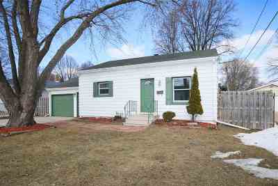Green Bay Single Family Home Active-No Offer: 1172 9th
