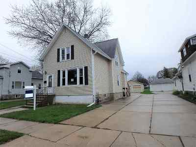 Green Bay Multi Family Home Active-No Offer: 1320 Doty