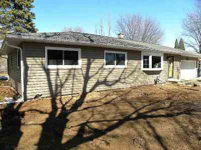 Oshkosh Single Family Home Active-No Offer: 2380 Indian Point