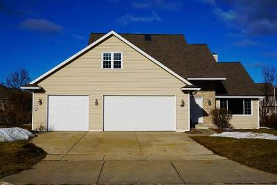 Green Bay Single Family Home Active-No Offer: 2538 Faldo