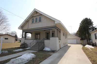Oshkosh Single Family Home Active-No Offer: 115 W 19th